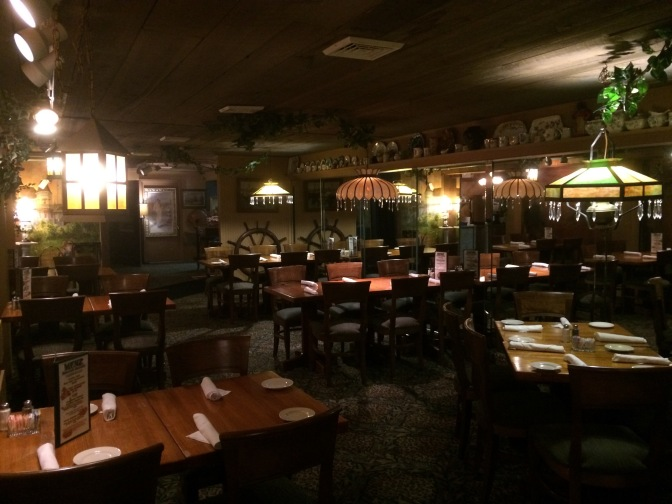 Photo of interior if Menz restaurant