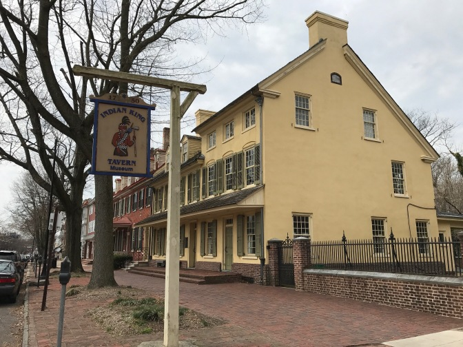 Photo of the Indian King Tavern.