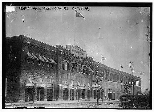 Fenway Park Exterior 1914