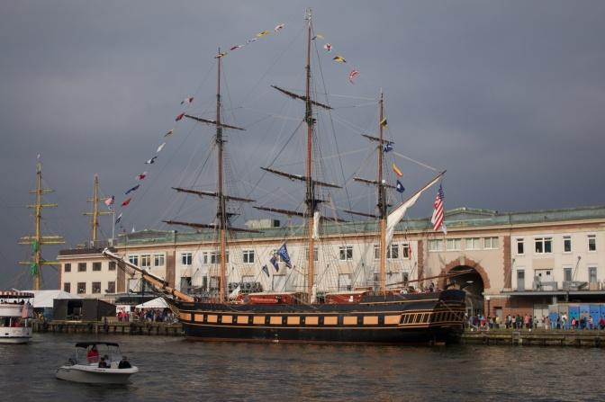 Sailing School vessel Oliver Hazard Perry.