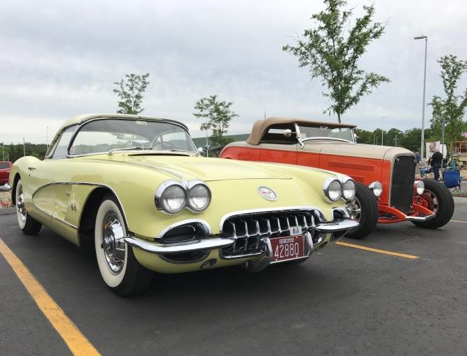 1959 yellow Chevrolet Convertible.