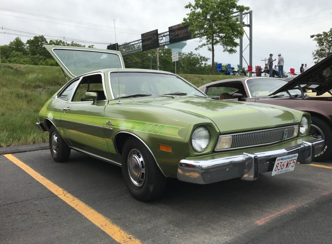 1974 Ford Pinto in green.