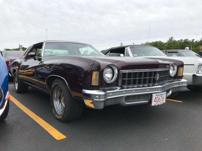 Mid-1970s Chevrolet Monte Carlo.