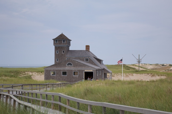 Old Harbor Life Saving Station.