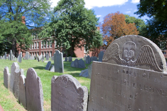 Copp's Hill Burying Ground.