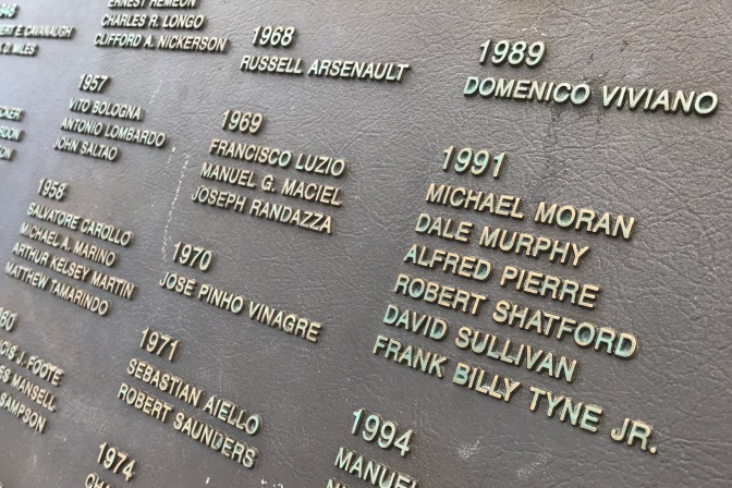 Names of the crew of the Andrea Gail, the fishing vessel that sank in 1991.