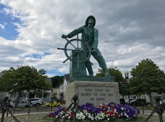 Fisherman's Memorial in Gloucester.
