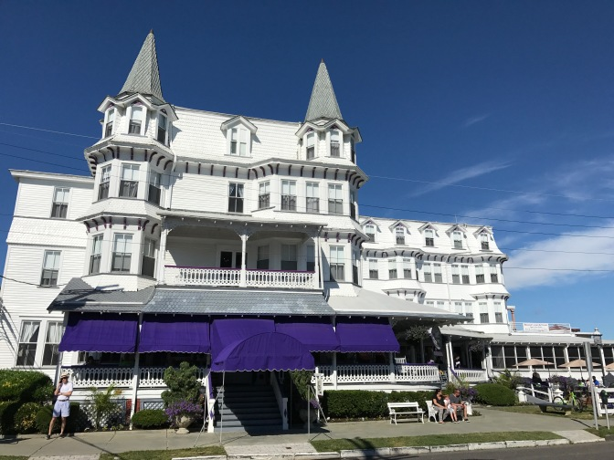 The Inn of Cape May, a Victorian Hotel on Beach Drive.