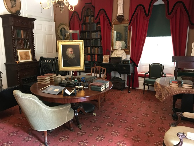Study in the Longfellow House.