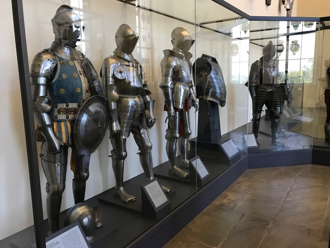Suits of armor.