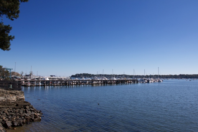 View of Salem harbor.