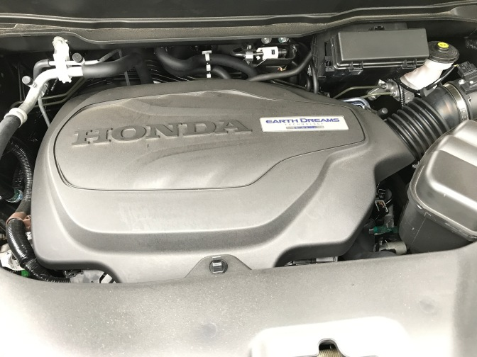Honda V6 engine in the Ridgeline.