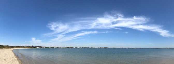 Panorama of Hyannis Harbor.