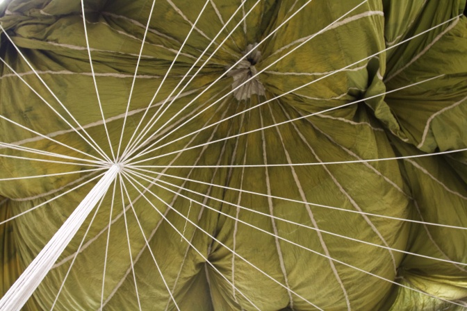 WWII parachute.