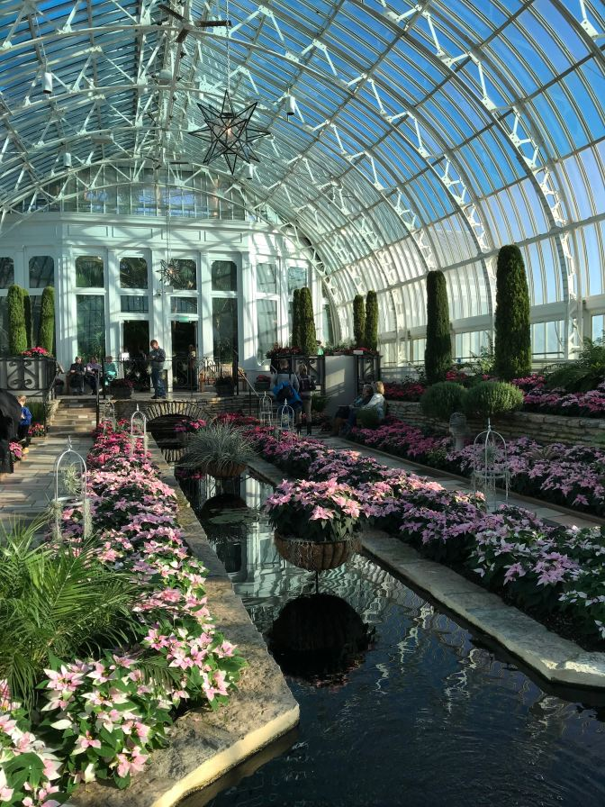 Interior of Como Conservatory.