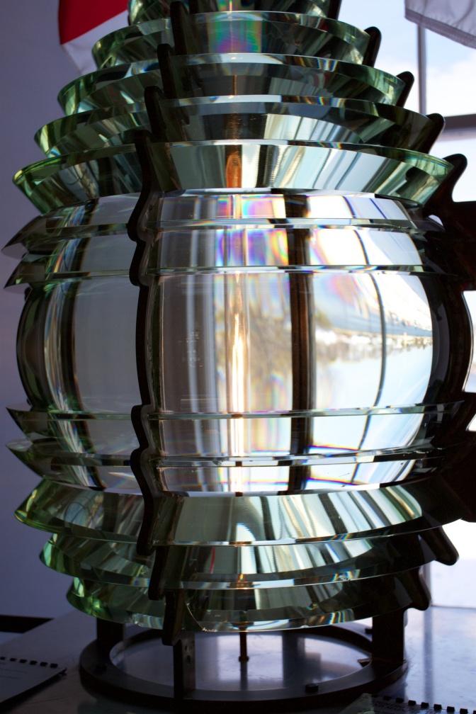 Fresnel lens.