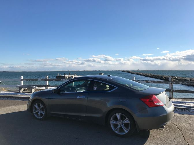 2012 Honda Accord at Race Point Beach.