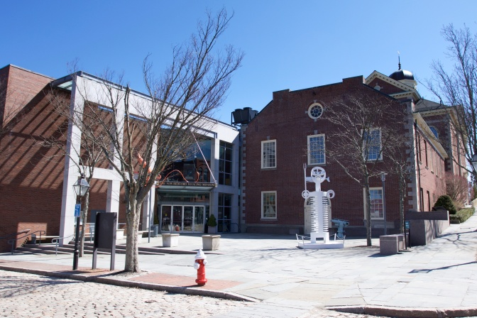 New Bedford Whaling Museum exterior.