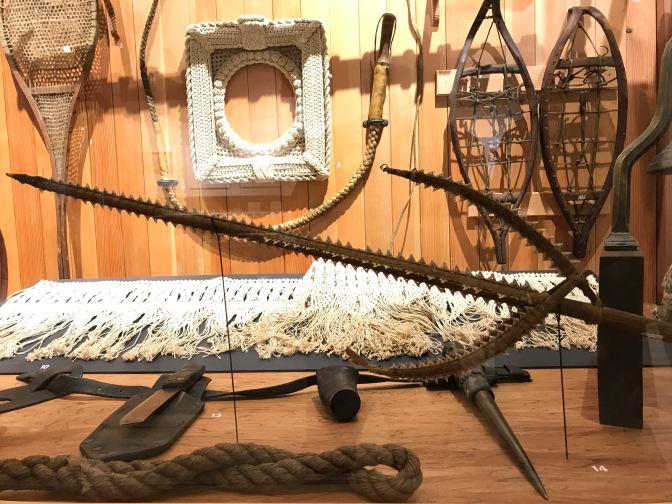 Kiribatian sword made form shark's teeth.
