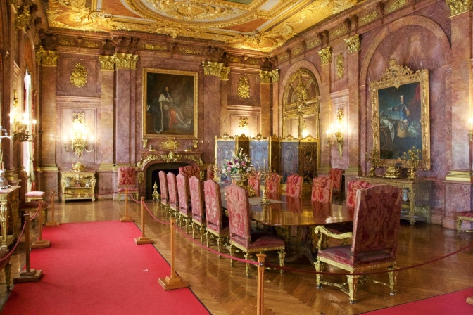Marble House dining room.