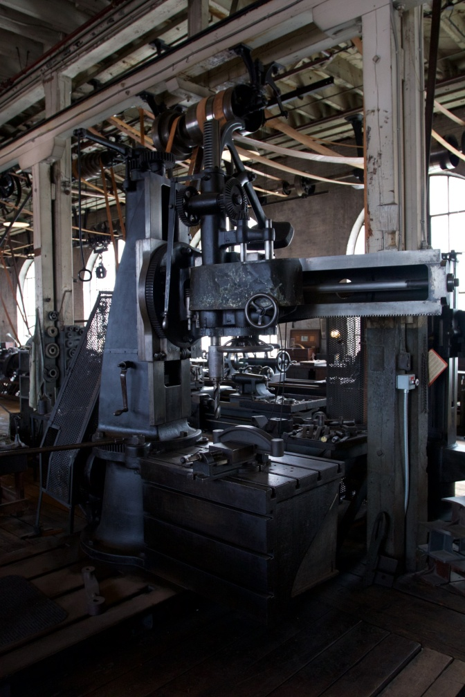 Radial Drill Press.