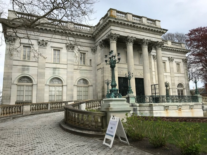 Exterior of Marble House.