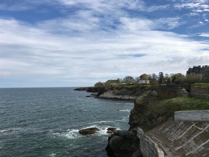 View of the Newport Coastline.