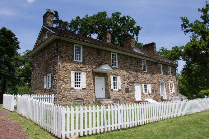 Exterior of Thompson-Neely Farmstead.