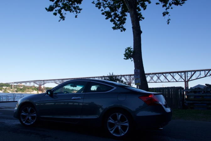 2012 Honda Accord, with Walkway Over the Hudson in the background.