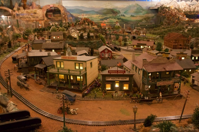 Small town made to look like the Old West