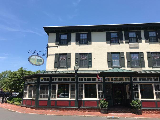 Exterior of the Logan Inn.
