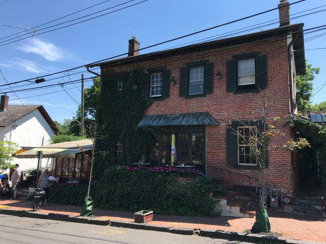 Exterior of Karla's restaurant in New Hope.