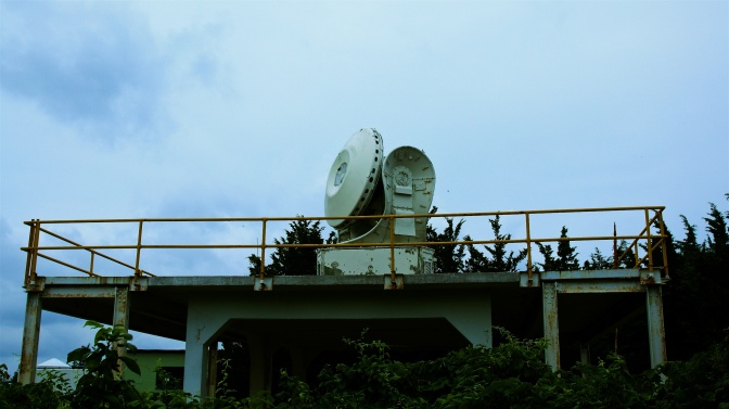 Nike-Hercules radar system.