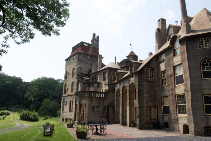 Exterior of Fonthill Castle.