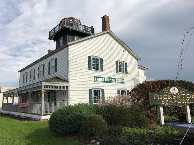 Exterior of Tucker's Island Light.