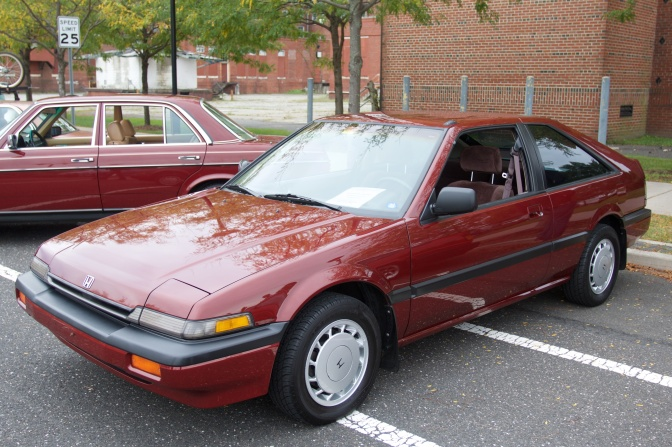 1987 Honda Accord hatchback.