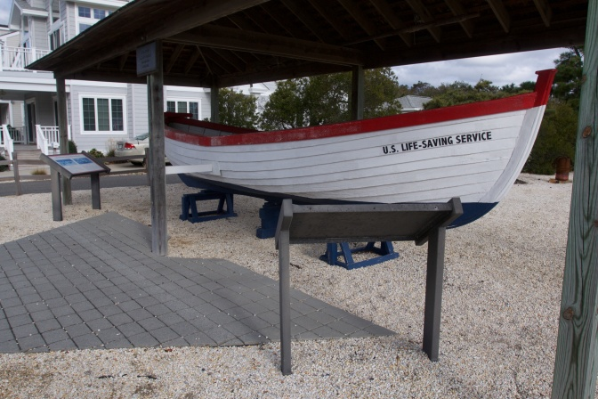 US Life Saving Service lifeboat.