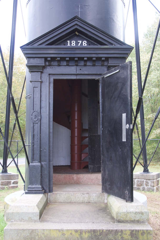 Entrance to lighthouse.