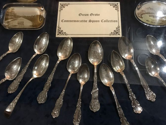 Ocean Grove Commemorative Spoon Collections.