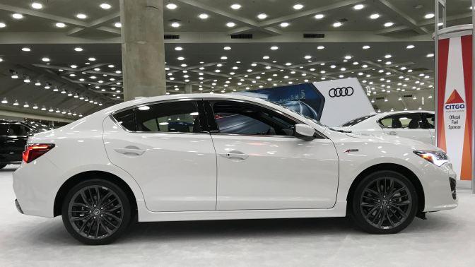 White Acura ILX A-Spec
