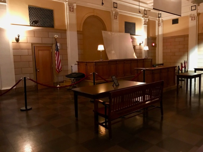 Courtroom of Courthouse.