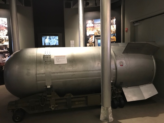 Exterior of B-53 Thermonuclear weapon.