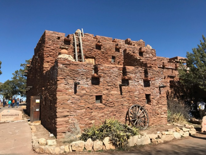 Exterior of Hopi House at Southern Rim.