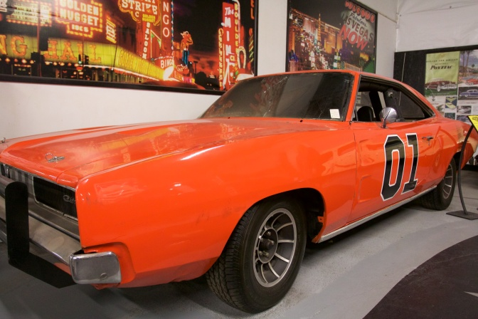 General Lee Dodge Charger.