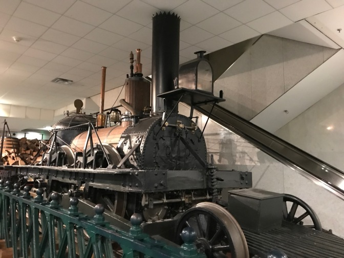 John Bull locomotive engine.
