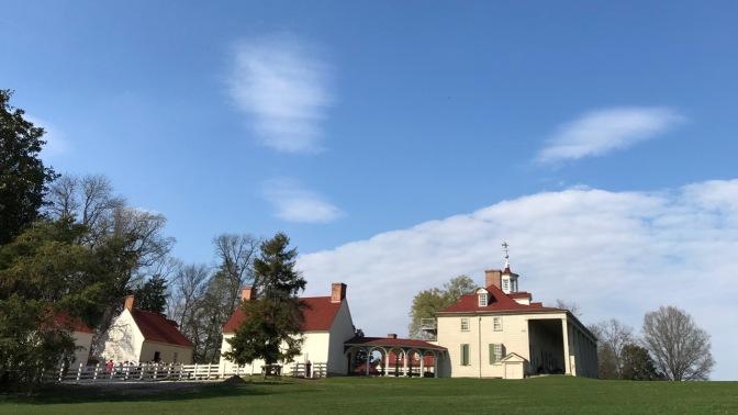 Exterior of Mount Vernon.