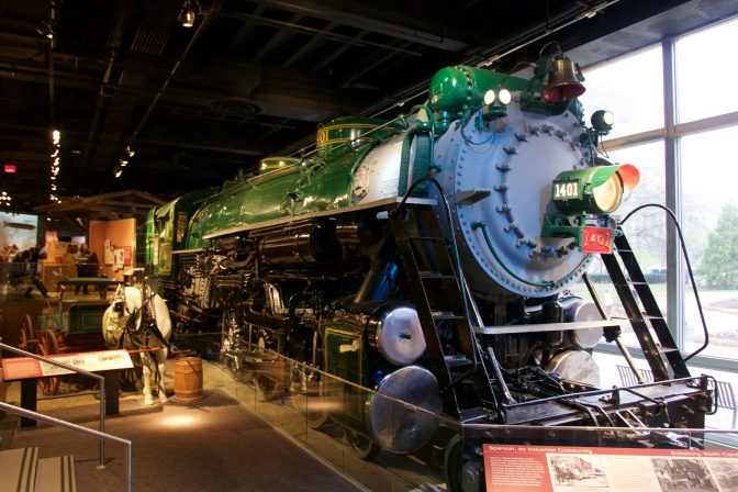 1401 Steam Locomotive.