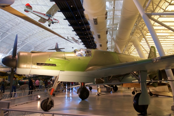 Dornier Do 335 in green and gray.