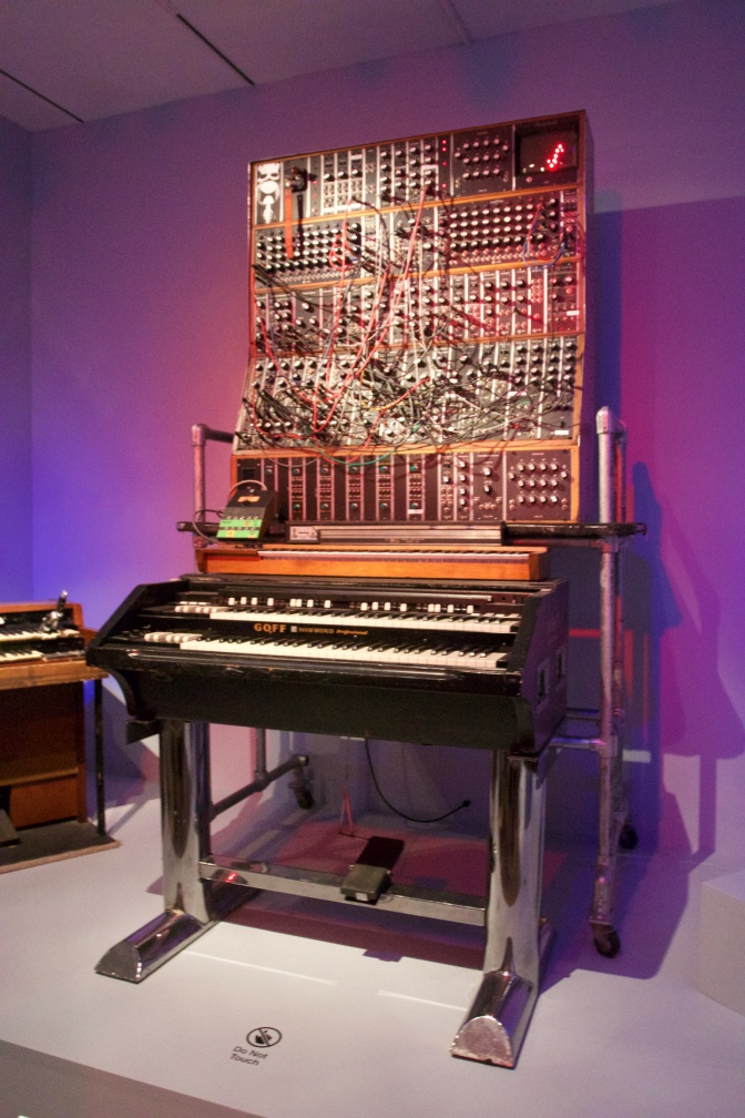 1968 Moog synthesizer.