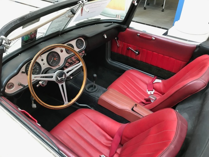 Interior of Honda S600.